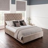 ?NEW - ONLY �329!?? Kingsize Beautiful Bedframe in Plush Mushroom????? Hurry - limited stock with FAST Delivery!? ? ? ? #thebedgallery #hertfordshirebeds #cheshunt #hertfordshire #bedspecialist #britishbeds #british #beds #mattress #sleep #sweetdreams #dream #comfort #goodnight #kingsize #beautiful #bedframe