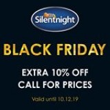 ???Black Friday deal!???? ? Extra 10% off ALL Silentnight products! ? ? Only available in-store or over the phone - call us on 01992 309 751 ????? ? ? #TheBedGallery #Cheshunt #Herts #Hertfordshire #HertfordshireBedShop #Silentnight #SilentnightBeds #Beds #Mattresses #BlackFriday #BedSale #BlackFridayOffer
