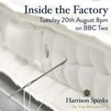 We are excited to watch tonight�s episode of #InsideTheFactory on BBC Two at 8pm. Tune in to find out how @harrison_spinks make their mattresses, and watch @greggawallace have a go at the mattress craft of side-stitching!