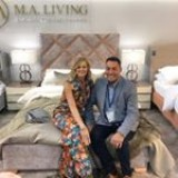 It was such a pleasure to meet the lovely, talented Linda Barker at the Bed Show this week as she launched her new collection, LB Design with @malivinguk.? ? ? #TheBedGallery #Cheshunt #Hertfordshire #Beds #Mattress #British #MALiving #LindaBarker #LBDesign #BedShow #Luxury #Bedroom #Comfort