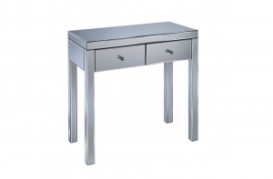 Florence 2 Drawer Mirrored Dressing Table