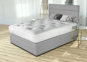 Bamboo 1500 Pocket Sprung Divan Set