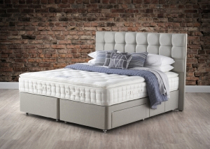 Hypnos Pillow Top Aurora Divan Set With Open Coil Sprung Base