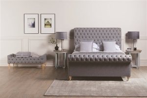 Adelaide Luxury Fabric Bedstead