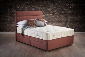 Hypnos Cotton Origins 6 Divan Set With Open Coil Sprung Base
