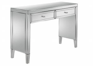 Barcelona 2 Drawer Mirrored Dressing Table